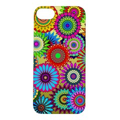 Psychedelic Flowers Apple iPhone 5S Hardshell Case