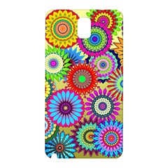 Psychedelic Flowers Samsung Galaxy Note 3 N9005 Hardshell Back Case