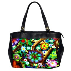 meadow Oversize Office Handbag (Two Sides)