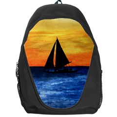 Sails Over Horizon Backpack Bag