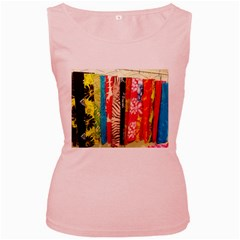 Sarongs(lavalava) Women s Tank Top (Pink)