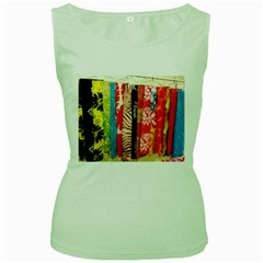 Sarongs(lavalava) Women s Tank Top (Green)