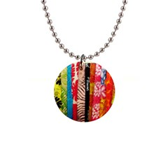 Sarongs(lavalava) Button Necklace