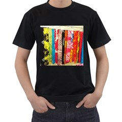 Sarongs(lavalava) Men s T Shirt (black)