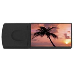 Sunset At The Beach 2GB USB Flash Drive (Rectangle)