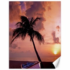Sunset At The Beach Canvas 12  x 16  (Unframed)