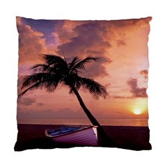 Sunset At The Beach Cushion Case (Two Sided)