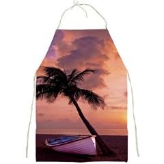 Sunset At The Beach Apron