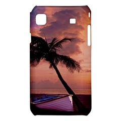 Sunset At The Beach Samsung Galaxy S i9008 Hardshell Case