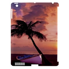 Sunset At The Beach Apple Ipad 3/4 Hardshell Case (compatible With Smart Cover)