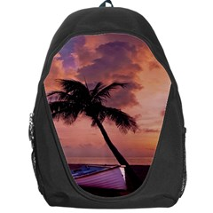 Sunset At The Beach Backpack Bag