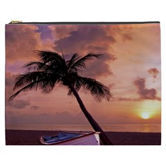 Sunset At The Beach Cosmetic Bag (XXXL)