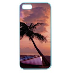 Sunset At The Beach Apple Seamless iPhone 5 Case (Color)