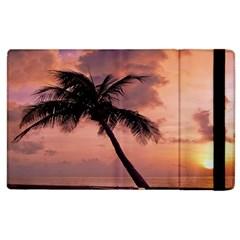Sunset At The Beach Apple Ipad 2 Flip Case