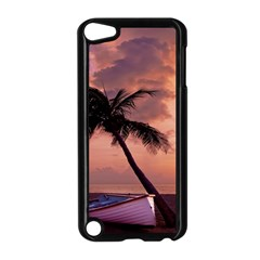 Sunset At The Beach Apple iPod Touch 5 Case (Black)