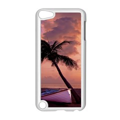 Sunset At The Beach Apple iPod Touch 5 Case (White)