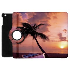 Sunset At The Beach Apple iPad Mini Flip 360 Case