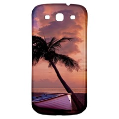 Sunset At The Beach Samsung Galaxy S3 S III Classic Hardshell Back Case