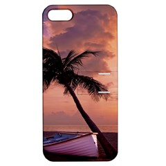 Sunset At The Beach Apple iPhone 5 Hardshell Case with Stand