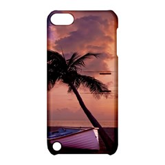 Sunset At The Beach Apple Ipod Touch 5 Hardshell Case With Stand