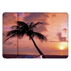 Sunset At The Beach Samsung Galaxy Tab 8.9  P7300 Flip Case