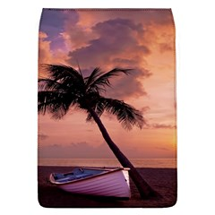 Sunset At The Beach Removable Flap Cover (Large)