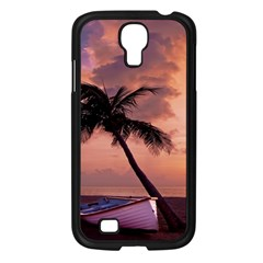 Sunset At The Beach Samsung Galaxy S4 I9500/ I9505 Case (black)