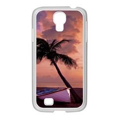 Sunset At The Beach Samsung GALAXY S4 I9500/ I9505 Case (White)