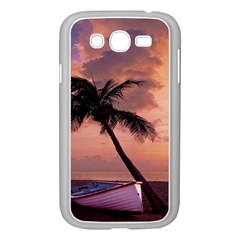 Sunset At The Beach Samsung Galaxy Grand Duos I9082 Case (white)