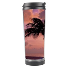 Sunset At The Beach Travel Tumbler