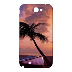 Sunset At The Beach Samsung Note 2 N7100 Hardshell Back Case