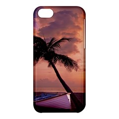Sunset At The Beach Apple iPhone 5C Hardshell Case
