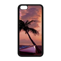 Sunset At The Beach Apple iPhone 5C Seamless Case (Black)