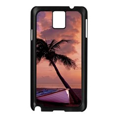 Sunset At The Beach Samsung Galaxy Note 3 N9005 Case (Black)