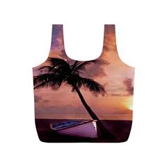 Sunset At The Beach Reusable Bag (s)