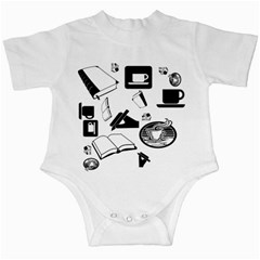 Books And Coffee Infant Bodysuit