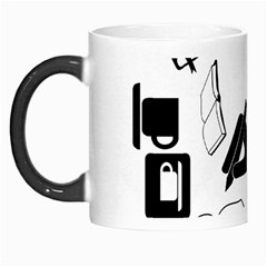 Books And Coffee Morph Mug