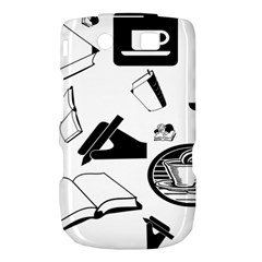 Books And Coffee BlackBerry Torch 9800 9810 Hardshell Case
