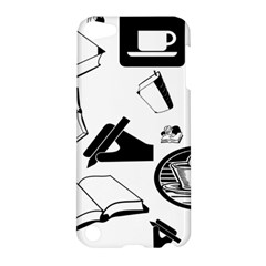 Books And Coffee Apple iPod Touch 5 Hardshell Case