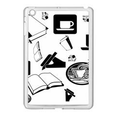 Books And Coffee Apple Ipad Mini Case (white)