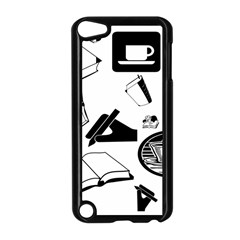 Books And Coffee Apple iPod Touch 5 Case (Black)