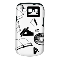 Books And Coffee Samsung Galaxy S III Classic Hardshell Case (PC+Silicone)
