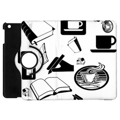 Books And Coffee Apple iPad Mini Flip 360 Case