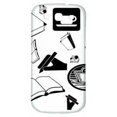 Books And Coffee Samsung Galaxy S3 S Iii Classic Hardshell Back Case