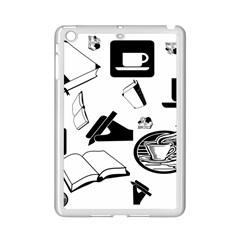 Books And Coffee Apple iPad Mini 2 Case (White)