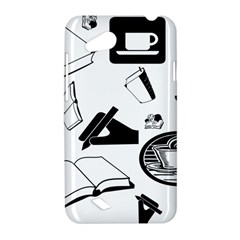 Books And Coffee HTC Desire VC (T328D) Hardshell Case