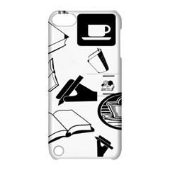 Books And Coffee Apple iPod Touch 5 Hardshell Case with Stand