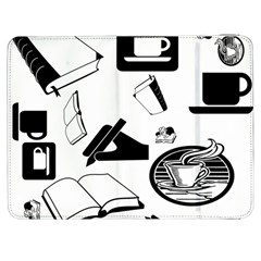 Books And Coffee Samsung Galaxy Tab 7  P1000 Flip Case