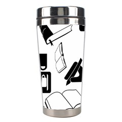 Books And Coffee Stainless Steel Travel Tumbler