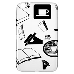 Books And Coffee Samsung Galaxy Tab 3 (8 ) T3100 Hardshell Case